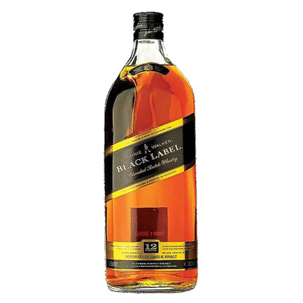 JOHNNIE WALKER BLACK LABEL 3 L.