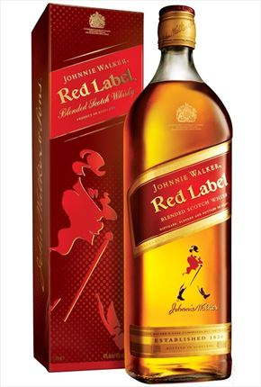 JOHNNIE WALKER RED LABEL 1 L.
