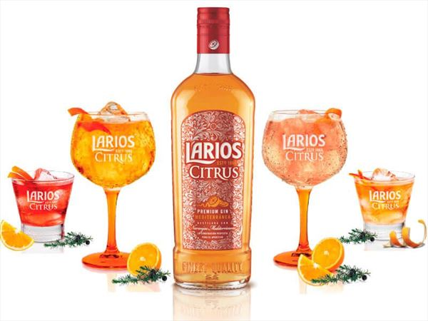 LARIOS CITRUS 70cl.