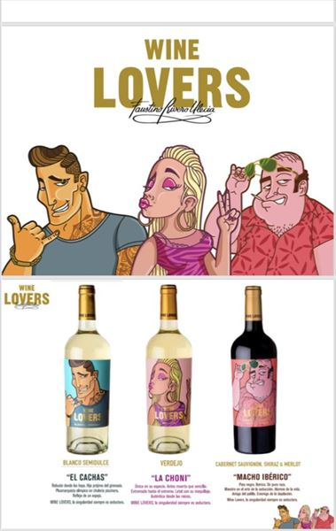 WINE LOVERS LA CHONI 75cl.