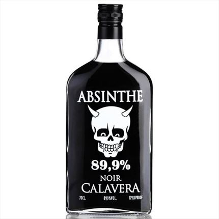 ABSENTHA CALAVERA NOIR PET 35CL 89,9% VOL