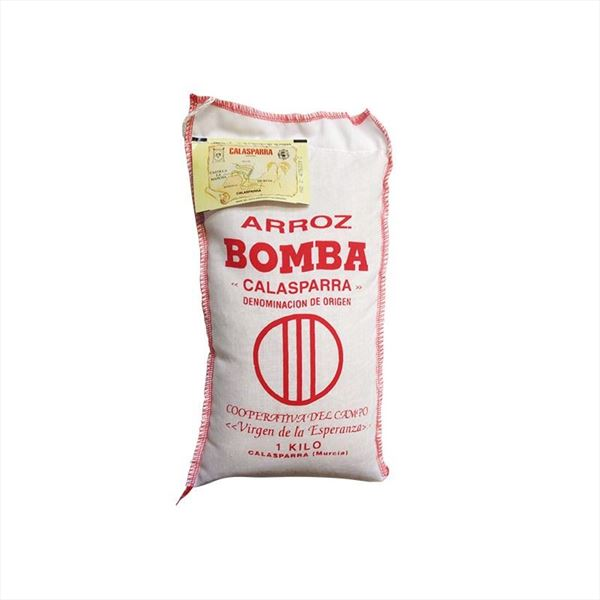 ARROZ BOMBA DO CALASPARRA SACO 1KG.