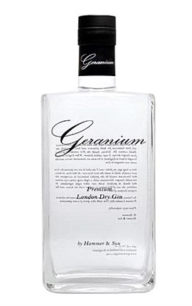 GERANIUM LONDON GIN 70 CL.
