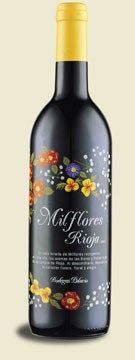 MIL FLORES TINTO JOVEN 75 CL.