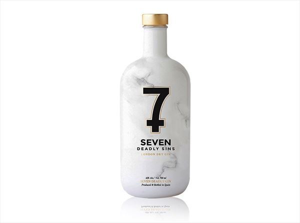 SEVEN DEADLY SINS LONDON DRY GIN 70 cl.
