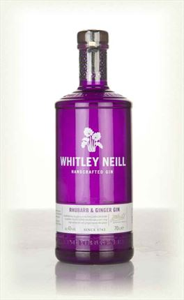 WHITLEY NEILL RHUBARB AND GINGER GIN 70CL.