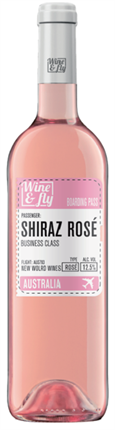 WINE & FLY SHIRAZ ROSÉ 75cl.